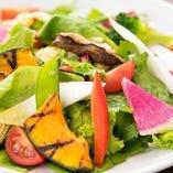 ◇10種類の野菜のサラダ