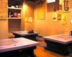 名物宮崎地鶏料理のお店 とりと 堺筋本町 店内の画像