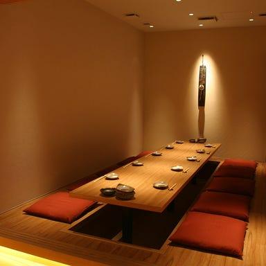個室和食 旬和席 うおまん なんばパークス店 店内の画像