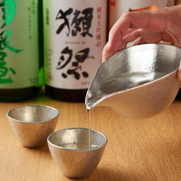日本酒も楽しめる飲み放題★ プレミアムでアイテム増プランOK