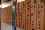 お寿司は各種取り揃えております。