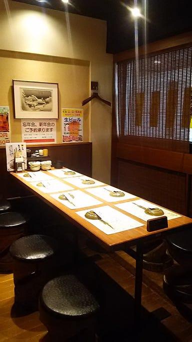 鍛冶屋 文蔵 東京オペラシティ店 店内の画像