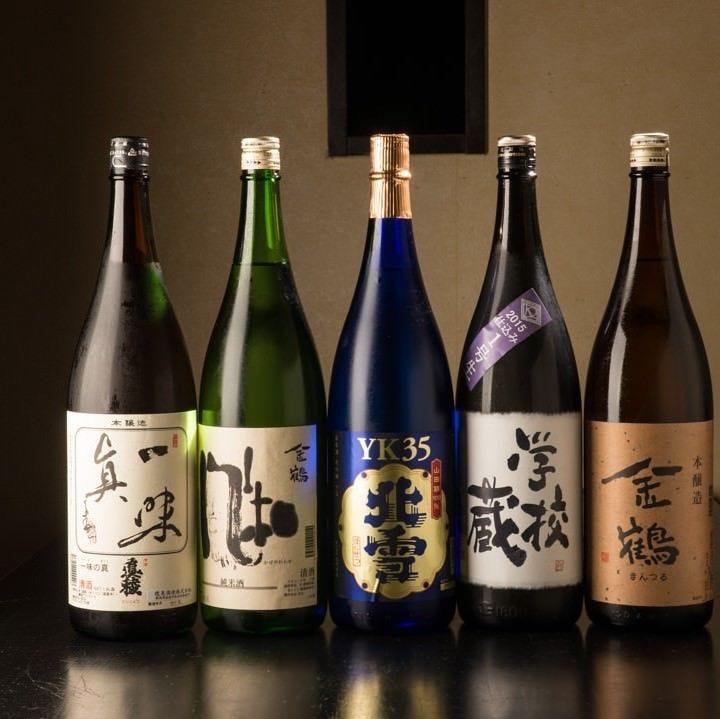 佐渡の地酒含め新潟の地酒が豊富!!