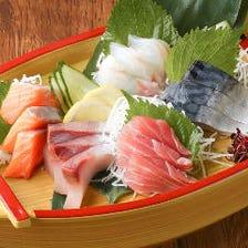 鮮魚盛り合わせ 5種