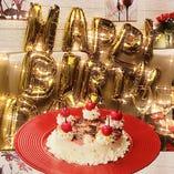 SNS映え間違いなしのプリントケーキで特別な記念日をお祝い♪