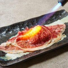 和牛ロース1枚炙り寿司