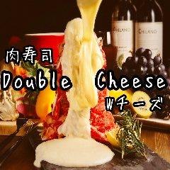 55種類の肉寿司 チーズ 食べ放題 Double Cheese Wチーズ 船橋店