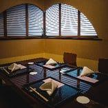 お座敷掘りごたつ式個室(5F)