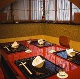【和個室】4名様~18名様まで。テーブル個室の貸切も承ります。