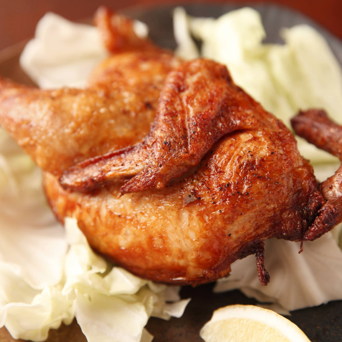 大人気!通称ゴチ鶏★ 地鶏のヒナを丸ごと素揚げ
