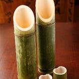 木更津で採れた本物の竹筒で日本酒を!竹酒