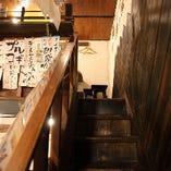 階段を上ると…
