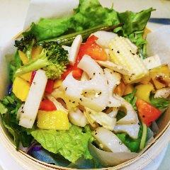 信州野菜の焼き野菜サラダ