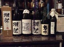 日本酒の多数取り揃えています。
