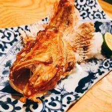 九州直送の食材を『炉端焼き』で堪能