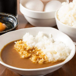 ランチは、カレーライス&玉子かけご飯が無料サービス!