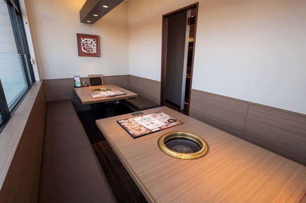 テーブル個室もあります