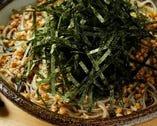 オリジナル海苔蕎麦