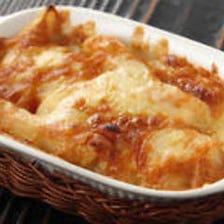 めんたいポテトチーズ焼き
