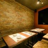お祝いやご接待に…プライバシー重視の掘りごたつ席完全個室(4~8名様)
