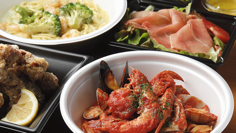 ご家庭で手軽に地中海料理を堪能♪