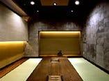 和風個室が4部屋。 4~10名様で御予約できます。