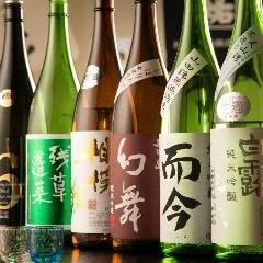 日本酒や焼酎を豊富にご用意