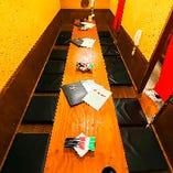 《貸切》部署飲み会やクラス会に◎【掘りごたつ個室貸切(最大16名様まで)】