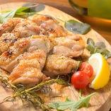 特選若鶏の岩塩焼き