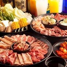 焼肉・お寿司…人気メニュー食べ放題
