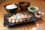 豚ロースの漬け焼き膳 ~ピリ辛豆板醤ソース~