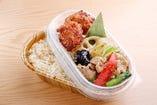 野菜炒め&唐揚げ弁当