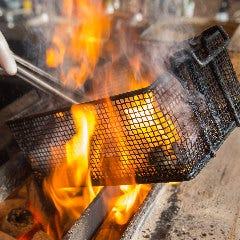 野菜巻き串と炭火焼き 長尾