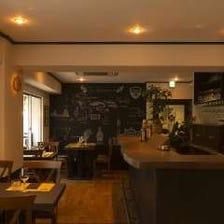 洗練された空間と料理が見事に調和