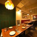 ◆宴会・懇親会に。半個室は最大20名様迄対応!