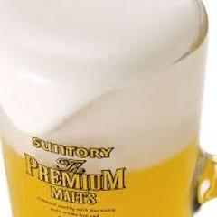 豊富なドリンクと美味しいビール