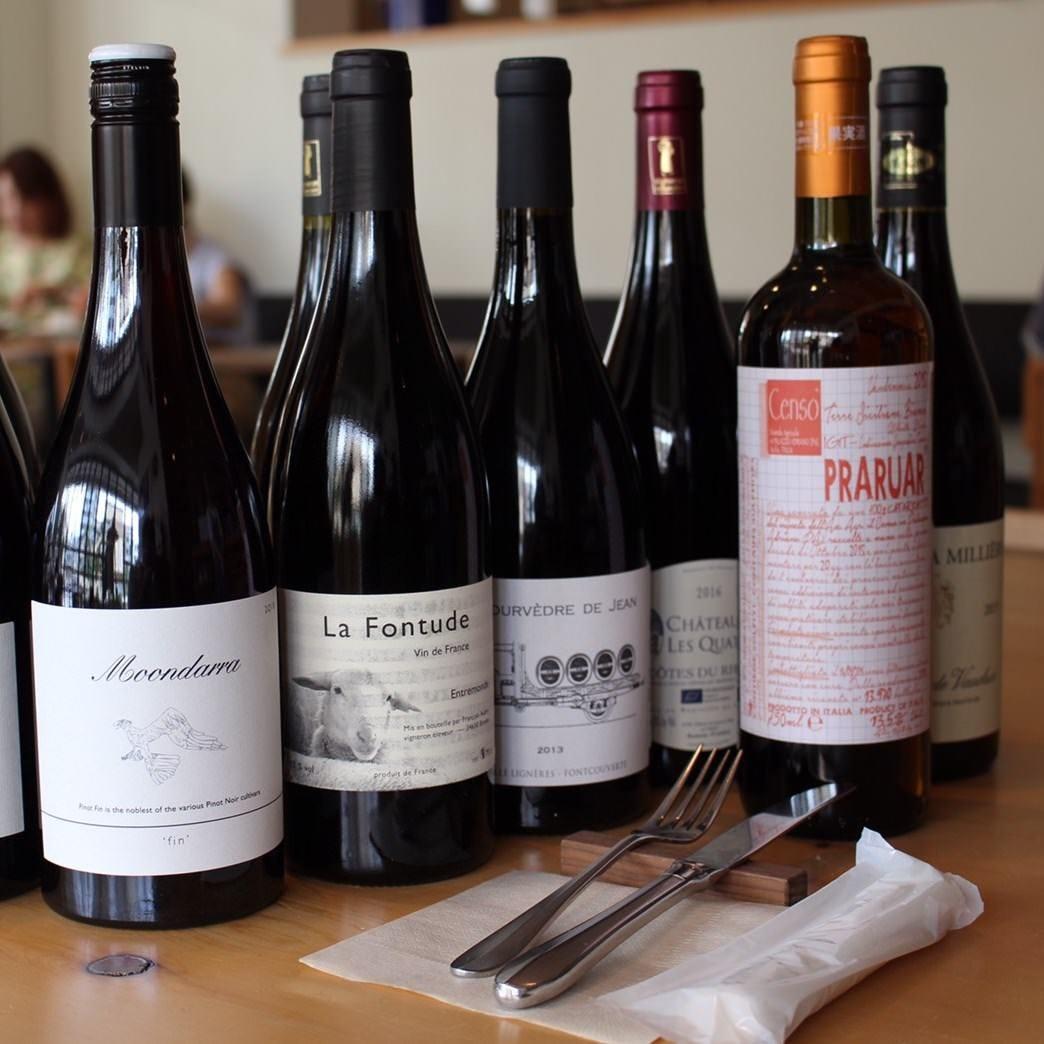 フランス産自然派ワインが豊富