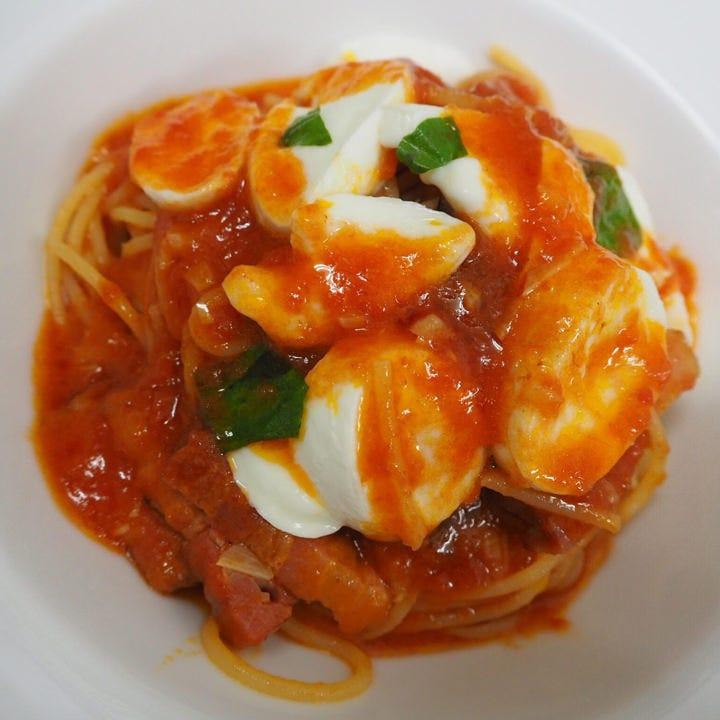 ボッコンチーノトマトパスタ
