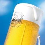 【飲み放題1480円(税抜)】ビールはアサヒスーパードライ!