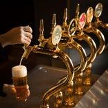 """YEBISUビール樽生6種と、九州料理を楽しむ居酒屋""""ごきげんえびす""""です!"""