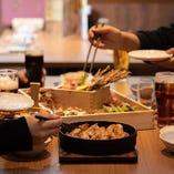 ビールと相性抜群の九州料理を心ゆくまでご堪能ください♪