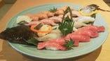 盛込み寿司一例