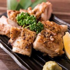地鶏の柚子胡椒焼き~赤穂の天然塩~