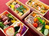 菜色健美二段弁当(さいしょくけんび)