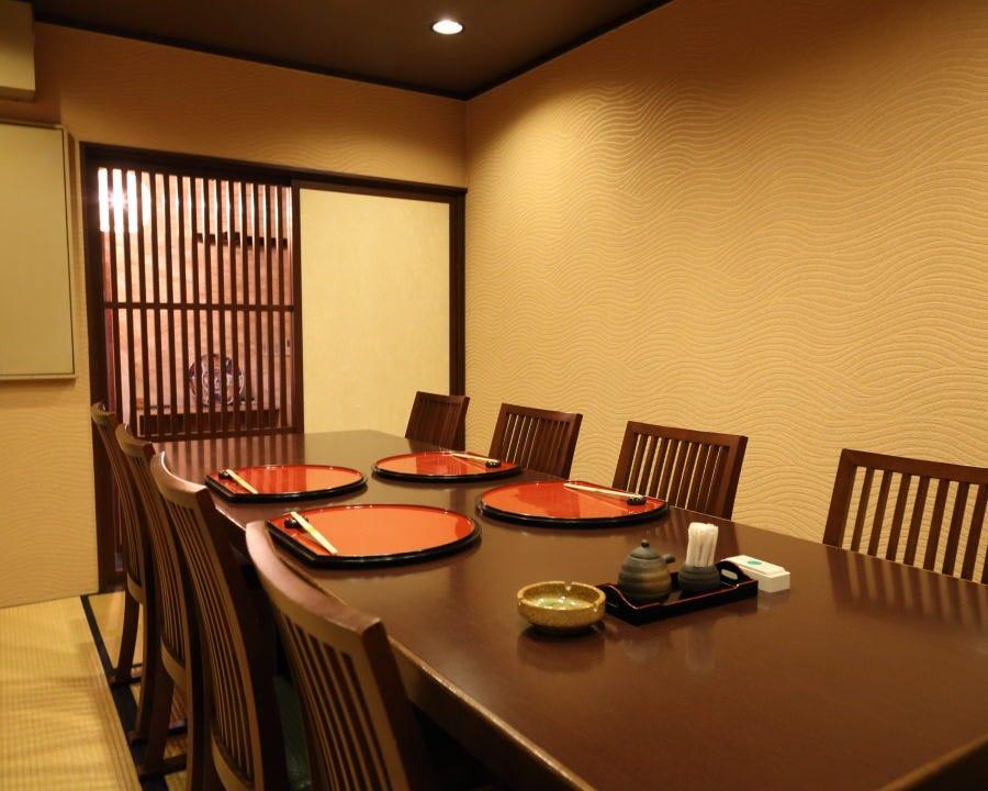 ◆8名様までご利用可能な完全個室