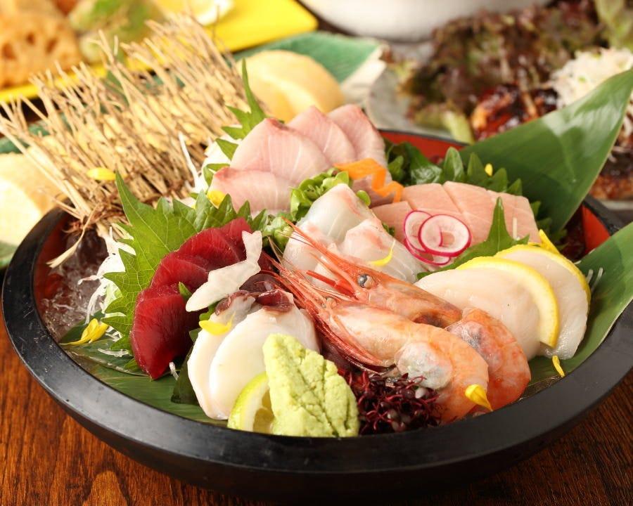◆旬の海鮮を使用した和食