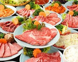 炭火焼肉・ジンギスカン食べ放題 炭の談笑屋 新橋店 コースの画像
