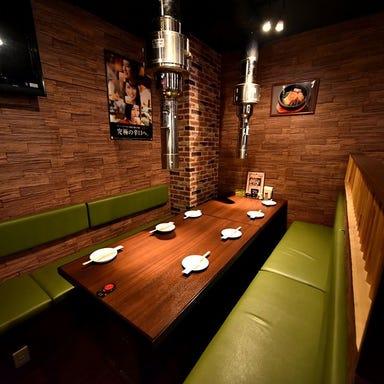 炭火焼肉・ジンギスカン食べ放題 炭の談笑屋 新橋店 店内の画像
