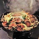 新鮮ラム肉のジンギスカン!【-】
