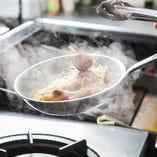 【シェフ自慢の料理】 テクス・メクスを中心に絶品料理満載♪